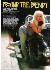 "LITA FORD black gloves,black car magazine PHOTO / Pin Up /Poster 11x8"""