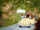 "Mike Kupka-""A Magical Journey""-Ltd Ed Hand Embellished Giclee/Canvas/Signed/COA"