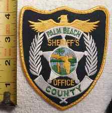 PALM BEACH COUNTY FLORIDA SHERIFF PATCH (FIRE, STATE POLICE, EMS, SHERIFF)
