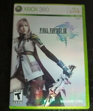 Final Fantasy XIII (FF 13) (Microsoft Xbox 360, 2010) CIB - Free Shipping!