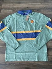 mens patagonia SAMPLE Cotton Conversion Long sleeve rugby shirt size medium Rare
