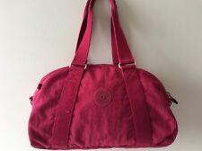 KIPLING ladies canvas cerise tote handbag