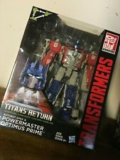 Transformers Titans Return Powermaster Optimus Prime Leader w/ Autobot Apex NISB
