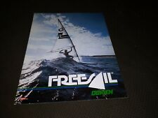 Vintage O'Brien Freesail Windsurf Sailboard Sales Brochure Catalog Poster