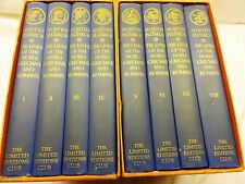 LIVES OF NOBLE GRECIANS & ROMAN Set - Plutarch 1st Edition Limited Editions Club