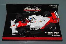 Minichamps F1 1/43 McLAREN TAG MP4/2C - BRITISH GP 1986 - KEKE ROSBERG