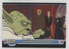 2004 Topps Star Wars: Clone Wars #15 The Chancellor's Decision Card 1k3