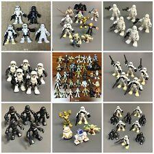 Lot Playskool Star Wars Galactic Heroes Imperial Jedi Force Clone Trooper Figure