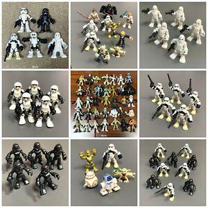 Star Wars Playskool Galactic Heroes Imperial Jedi Force Clone Trooper Yoda Toys