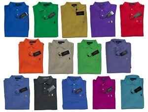 Ralph Lauren Polo Mesh Cotton Classic Fit Mens Shirt - Sz M L XL XXL NEW STOCK