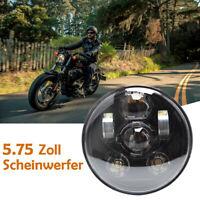 Motorrad 5.75'' Zoll LED Hi/Lo Scheinwerfer Projektor Lampe für Harley Sportster