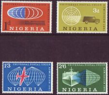 Nigeria 1961 UPU  Set of 4 - SG 102 to 105 M/M