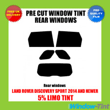 LAND ROVER DISCOVERY SPORT 2014+ 5% LIMO REAR PRE CUT WINDOW TINT