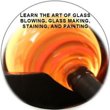 These 23 books show you the art of Glass blowing,Glass making,Staining,Painting