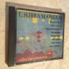 L. SUBRAMANIAM CD INDIAN EXPRESS/MANI & CO STANLEY CLARKE LARRY CORYELL JAZZ