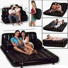 Good Quality New Deal For 5 in 1 Inflatable Air Sofa Cum Bed With Electric Pump