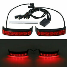 LED Saddlebag Running Brake Turn Light For Harley Road Electra Glide 2014-2020