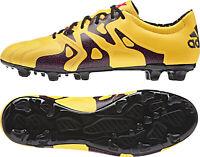adidas X 15.2 Mens Football Boots Gold Firm Ground FG/AG Soccer Clearance Deal