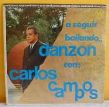 CARLOS CAMPOS A SEGUIR BAILANDO DANZON MEXICAN LP STILL SEALED DANZON