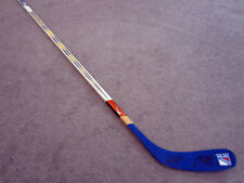 MARC STAAL & KEVIN SHATTENKIRK New York Rangers SIGNED Hockey Stick w/ COA