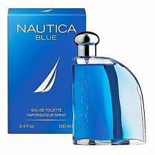 NAUTICA BLUE Perfume for Men * 3.4 oz 100 ml Eau de Toilette * New in Box Sealed