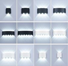 Nordic Lámpara de Pared LED de aluminio Ip65 al aire libre Luces de pared arriba abajo moderna para el hogar