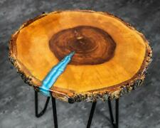 Resin Coffee Table, Epoxy End Table, Wood Night Stand, Hairpin furniture Living