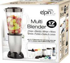 17pcs Multi Blender Food Processor Juicer Smoothie Maker Liquidiser Mixer Choppe