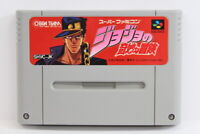 Jojo's Bizarre Adventure SFC Nintendo Super Famicom SNES Japan Import I5884