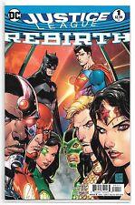 Justice League-Rebirth #1 (Sep 2016, DC)