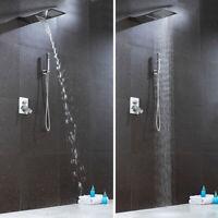 Unterputz Duschset Duschsystem Regendusche Armatur Edelstahl Duschpaneel Messing
