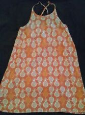GIRLS S(6-7) OLD NAVY PINEAPPLE PRINT DRESS