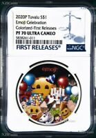 2020 emoji™ Celebration .9999 1oz Silver $1 Proof Coin NGC PF70 First Releases