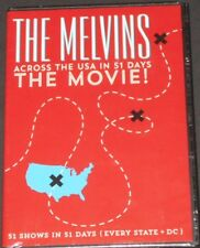 THE MELVINS across the usa in 51 days DVD new sealed