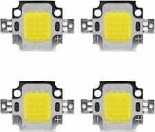 4 unid braguitas. High Power 10w LED chip en frío, neutral, blanco cálido 12v 35mil 1100 LM