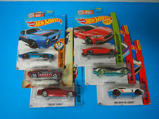 Hot Wheels LOT OF 6 73 FIREBIRD 70 FORD MUSTANG CADILLAC ELMIRAJ TESLA