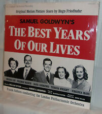 Hugo Friedhofer The Best Years Of Our Lives Mint/Sealed 1979 Lp Plus Booklet