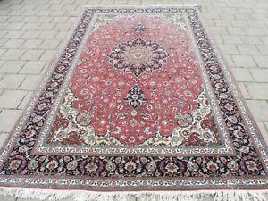 Classy, High-Quality, Fine Oriental Carpet, Wool With Silk, Top-Teppich