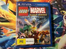 BRAND NEW & SEALED PS Vita Game Lego Marvel Super Heroes Universe in Peril! AUS!