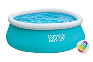 Intex Easy Set Swimming Pool Round Kids Family Without Pump 6ft x 20in