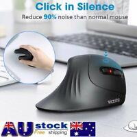 VicTsing 2.4G 1600DPI Wireless Mouse Vertical Ergonomic Working Charging Optical