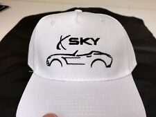 Saturn Sky Kappa White Embroidered Black New- Port & Co. 5 panel new