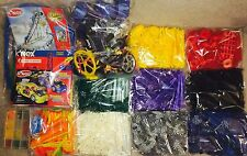 RARE!!☆HUGE☆LOT☆OF☆K'NEX☆(5,000+)☆BUILDING☆TOYS☆MANUALS☆MOTORS☆WHEELS☆PARTS☆ETC.