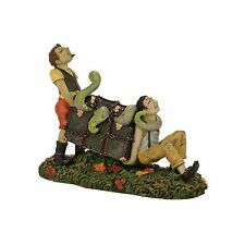 The Makings Of A Sordid Evening Figurine Dept 56 Halloween Village Accessory