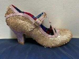 Irregular Choice nicely done gold sequin wedding exclusive
