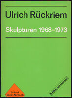 Ulrich Rückriem: Kassettenkatalog zur Austellung des Städtischen... (1973).