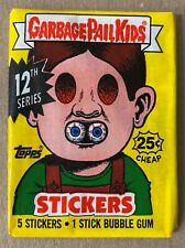 Garbage Pail Kids Series 12 sealed wax pack 1988 Topps nice condition