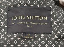 LOUIS VUITTON PARIS MANTEL LUXUS PUR TRENCHCOAT BEIGE MANTEL SOMMER GR F 40 D 38