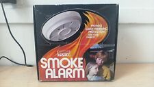 Vintage Montgomery Wards Smoke Alarm with Light - New old stock