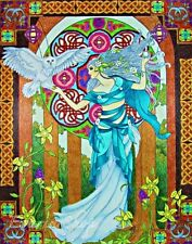 Coloring Book Adult Kid Traditional Goddess Fairy Design Art Pattern Relax Fun